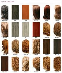 Weave Hair Color Chart Different Blonde Brown Red Dark Hair