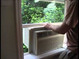 ac unit window. how to install a window a/c unit ac