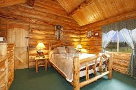 fresh log cabin decorating theme 13954