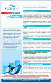 jobs in scilife pharma pvt limited application form