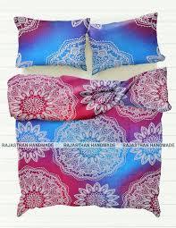 new indian mandala duvet cover bedding comforter bohemian queen size quilt cover