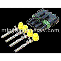 wire harness connector from manufacturers factories whole rs 4 way delphi motorcycle auto waterproof connectors wire seal harness connector terminal