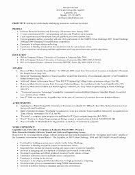 Testing Resume Sample For 2 Years Experience Software Testing Resume Samples 24 Years Experience Best Of 8