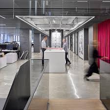 office building interior design. Watch: Gensler Is Testing The Office Of Future Inside Its Own Studio. Building Interior Design