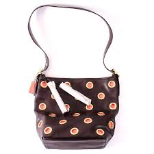 ... canada coach limited edition grommet shoulder bag 9830b 40298 ...
