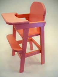 doll high chair wood doll high chair girls wood by hummelcreations 80 00