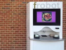 Froyo Vending Machine Cost Magnificent A DC StartUp Invented Frobot Business Insider