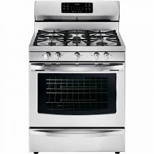 stove kenmore. kenmore 74343 5.6 cu. ft. gas range w/ convection oven - stainless steel stove 4