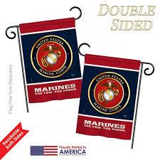 details about proud marine corps impressions decorative garden flag set gs108406 bo