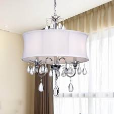 Crystal Chrome 3-light Chandelier - Free Shipping Today - Overstock.com -  12253207