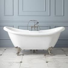 rosalind acrylic clawfoot tub imperial feet