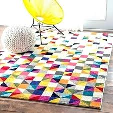 bright colored round area rugs awesome and beautiful multi rug neon green