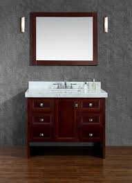 single white bathroom vanities. Ariel By Seacliff Beckonridge 42\ Single White Bathroom Vanities