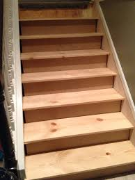 cut a stair skirt and fit the new stair treads, The Serene Swede on  Remodelaholic