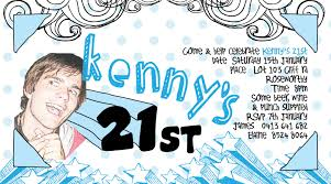 21st party invitations templates