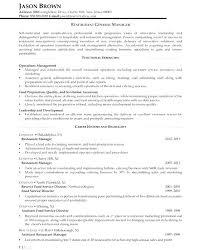 Resume For Food Service Sample Food Service Resume Food Preparation