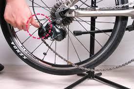 自転車 チェーン 外れ た