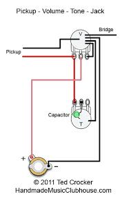vol tone piezo wiring diagram wiring diagram inside