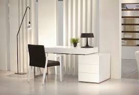 white modern office. Exellent Office Image Of Luxury Modern Office Desks And White F