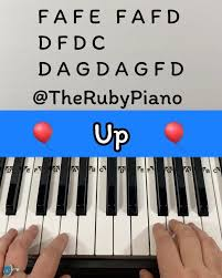 Married life is the longest track on the up soundtrack, and plays during the opening of the movie. 4 605 Likes 81 Comments Therubypiano Therubypiano On Instagram Learn How To Play The Theme Song From T Piano Songs Piano Tutorial Easy Piano Songs