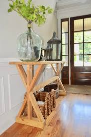 so i wanted to finally share the diy instructions for creating this beautiful entry way table i wanted a rustic yet very simple entryway table for our