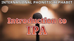 In english, some of the letters can have different pronunciation. Introduction To Ipa International Phonetic Alphabet Youtube