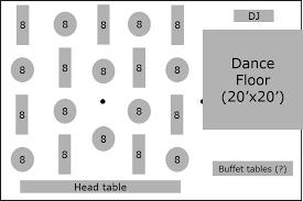 wedding reception layout popular wedding layouts elite rentals