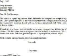 How To Write A Resignation Letter - For More Up To Date Career And ...