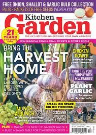 garden magazine. Contemporary Magazine Title Cover Preview Kitchen Garden Magazine To