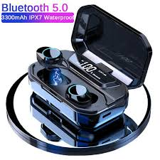 <b>X6 Pro</b> IPX7 4000mAh <b>Bluetooth</b> 5.0 <b>Headset</b> In-Ear Earbuds TWS ...