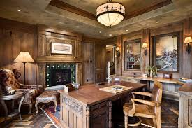 home office light fixtures. Rustic Lighting Fixture With Traditional Desks Home Office And Wood Chair Light Fixtures