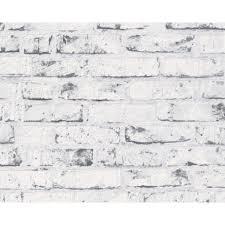 free grey brick white washed