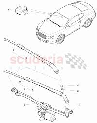 wiper motor wiper arm wiper blade rhd driver s side for enlarge diagram · Â