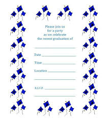 Graduation Invitation Template Custom Free Printable Graduation Party Invite Flying Caps Crafty Things