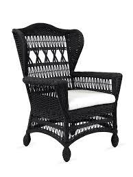 Sydney Outdoor Wicker Dining Chair Black  Outdoor Cafe Wicker Black Outdoor Wicker Furniture