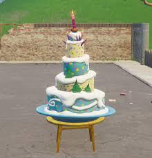 Fortnite 1st Anniversary Cake Locations Fortnitemastercom