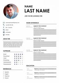 Our editorial collection of free modern resume templates for microsoft word features stylish, crisp and fresh resume designs that are meant to help you command more attention during the 'lavish' 6 seconds your average recruiter gives to your resume. 50 Resume Templates In Word Free Download Cv Format