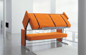 folding furniture for small spaces. Folding Bunk Bed Furniture For Small Spaces