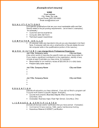 14 Elegant Sample Of Simple Resume Format Template How To Write A