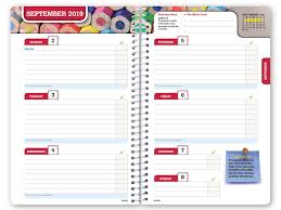 Hardcover Dated Middle School Or High School Student Planner For Academic Year 2019 2020