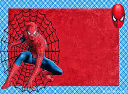 spiderman birthday frames 1