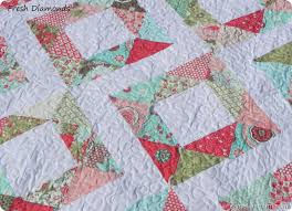 Easy Quilt Patterns | If you make a Fresh Diamonds Quilt , I'd ... & Easy Quilt Patterns | If you make a Fresh Diamonds Quilt , I'd love Adamdwight.com