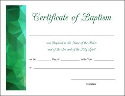 Sample Baptism Certificate Template Beauteous First Communion Certificate Template Blank Baptism Certificate Dtk