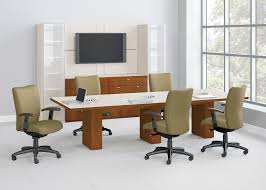 small office conference table. Products National Office Furniture The Conference Room Table And Chairs Nof B Conft Waveworks Mixit Media Small