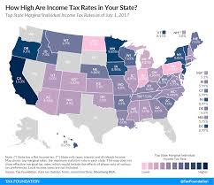 State Individual Income Tax Rates And Brackets 2017 Tax