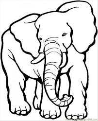 Small Picture Get This African Elephant Coloring Pages Free Printable 5678093