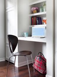 ... Large Size Extraordinary Build Desk In Closet Pics Inspiration ...