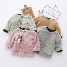 baby jacket girl winter jacket autumn cotton fleece thick warm fashion outerwear infant baby coats toddler