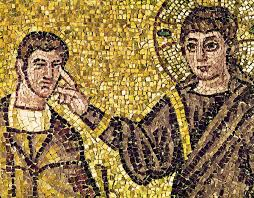 Image result for jesus and the man born blind