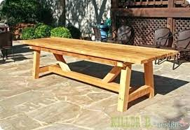 wooden patio furniture plans goairclub